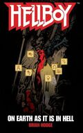 Hellboy - On Earth as It Is in Hell (Novel Cover)