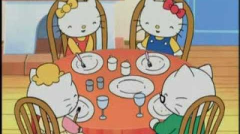 """""""Eating Our Vegetables"""" Hello Kitty"""