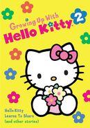 Sanrio Television GrowingUpWithHelloKitty HelloKittyLearnsToShare-Vol2 DVD-cover