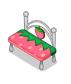 Pinkstrawberrybench