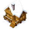 Snowcappedloghouseicon