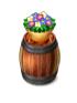 Barrelandflowerpot
