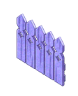 Purplewoodenfence
