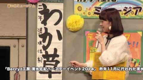DVD「Hello! Project FCイベント2014 ~Hello! Xmas Days2♥~ Berryz工房 Berryz工房 清水佐紀バースデーイベント2014」