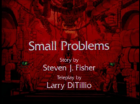 Small Problems