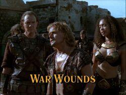 War wounds title