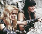 Callisto and Xena