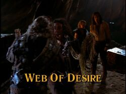 Web of desire title