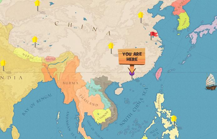 Ideas Macau In World Map On Lizzawestcom - Where is macau in the world
