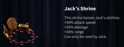 Jack's Shrine