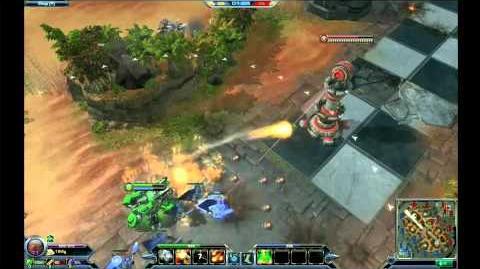 Blizzard DotA - General Warfield Siege