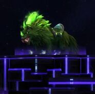 Elemental Wolf - Green