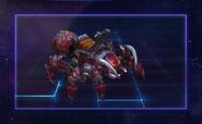 Mechanospider - Red