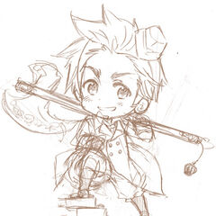 thumb|Chibi sketch of Denmark in regular outfit