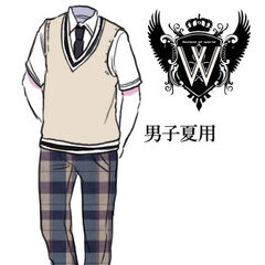 Boys' summer uniform.
