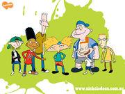 Hey Arnold boys promo art