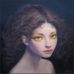 Golden Eyes by thienbao
