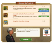 Quest Hot on the Trail 3-Tasks