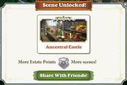 Scene Unlocked Ancestral Castle
