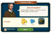 Quest Tuscan Villa-Rewards