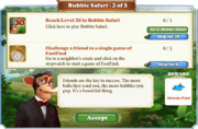 Quest Bubble Safari 3-Tasks