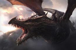 Aegon I Targaryen en Balerion by Jordi González©.jpg