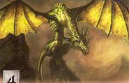 Rhaegal by Scott Altmann, Fantasy Flight Games©