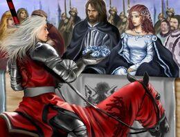Rhaegar coronando a Lyanna Stark by M. Luisa Giliberti©.jpg