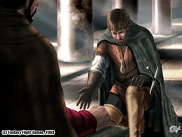 Davos jura lealtad a Stannis by Amoka©.jpg