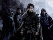 Jon Nieve by Magali Villeneuve, Fantasy Flight Games©