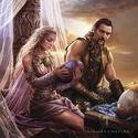 Boda de Daenerys y Drogo by Magali Villeneuve©