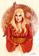 Cersei Lannister by Lorena Carvalho