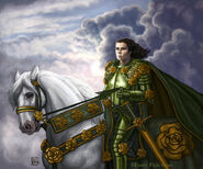 The Knight of Flowers by Felicia Cano, Fantasy Flight Games©