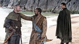 Davos, Salladhor y Matthos HBO.jpg