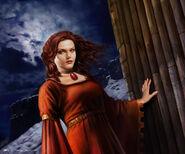 Melisandre by Tiziano Baracchi, Fantasy Flight Games©