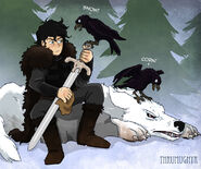 Jon Nieve by Thrumugnyr©