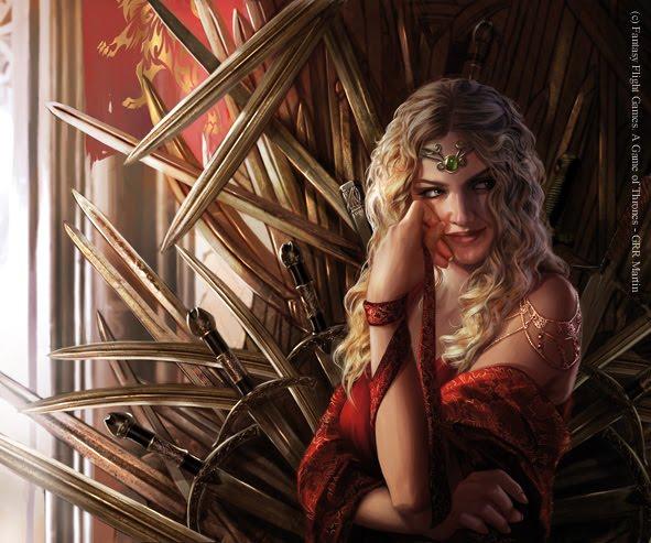 Resultado de imagen de cersei lannister magali villeneuve