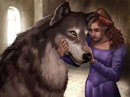 Dama y Sansa, Fantasy Flight Games©.jpg