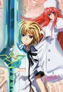 High School DxD New Vol.3 DVDx
