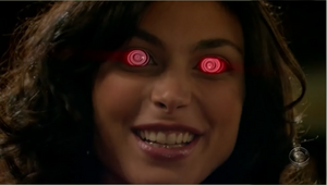Swarley - chloe crazy eyes