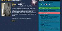Barney's Blog: Party Alert!