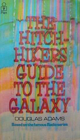 File:Hitchhiker's Guide to the Galaxy bookcover.jpg