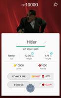 Bunkemon Stat Card Hitler