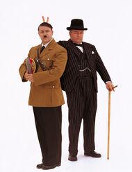Ricky Gervais Hitler&Churchill