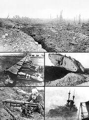 WW1 collage