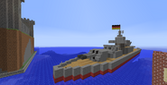 UMS battleship