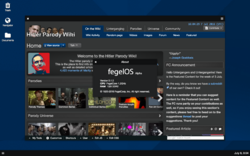 FegelOS desktop