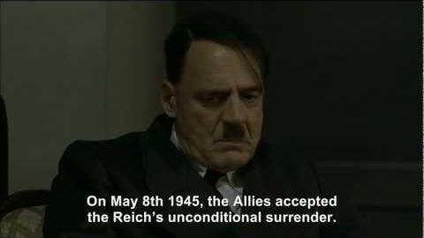 Hitler gets a report on his death