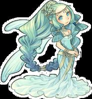 Harvest goddess tot