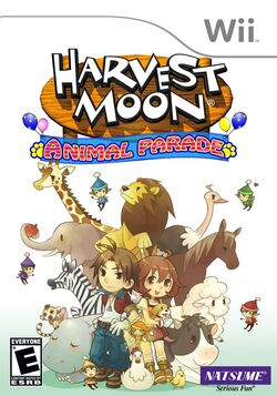 Harvest Moon Animal Parade box